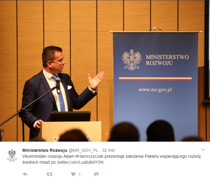 Twitter Ministerstwo Rozwoju