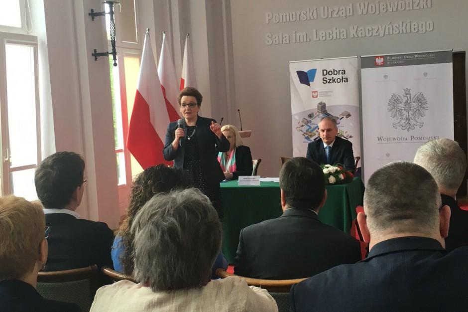 Anna Zalewska: Decyzja ws. szkoły w Kokoszkach powinna zapaść do 15 czerwca