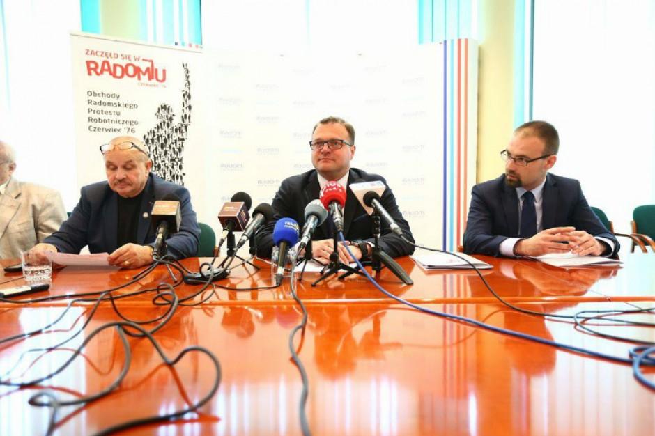 Obchody 41. rocznicy radomskiego Czerwca'76