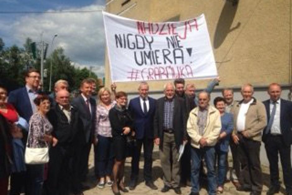 Posłowie PO piszą do wojewody podlaskiego w sprawie gminy Grabówka