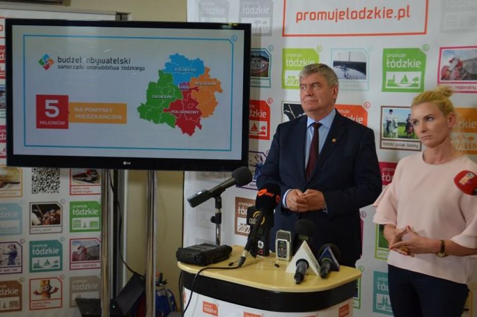 Rozpoczęła się pierwsza edycja budżetu obywatelskiego woj. łódzkiego