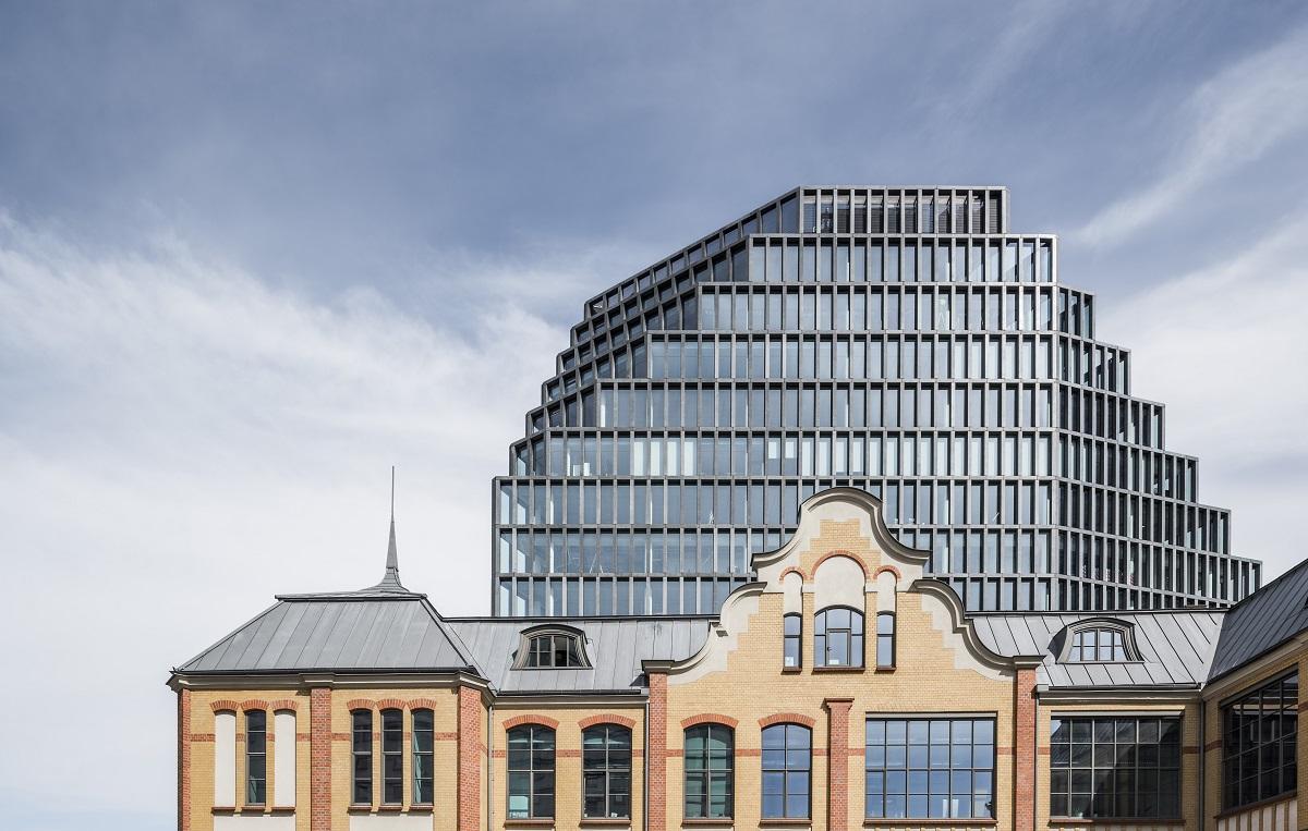 Bałtyk liczy 16 kondygnacji. Łączna powierzchnia budynku wynosi ok. 15 170 mkw. (fot. J.Sokołowski/Garvest)