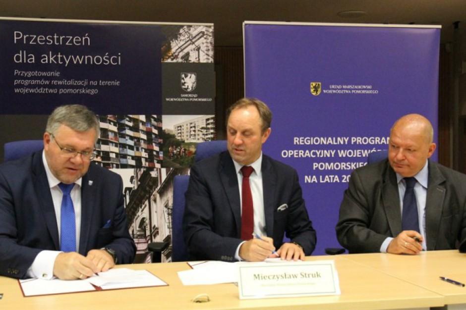 Pomorskie: 115 mln zł na rewitalizację w Gdyni, Tczewie, Wejherowie i Kartuzach