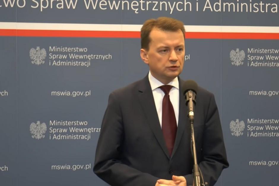 Mariusz Błaszczak: Przywracamy posterunki policji. Są pieniądze na infrastrukturę