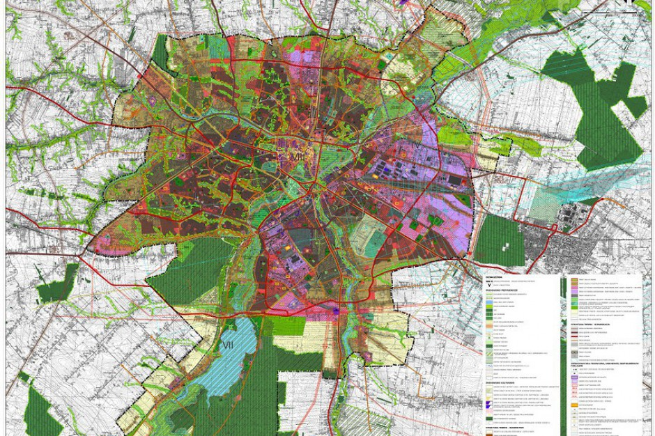 Więcej zieleni i więcej mieszkań w Lublinie. Jest projekt nowego studium zagospodarowania
