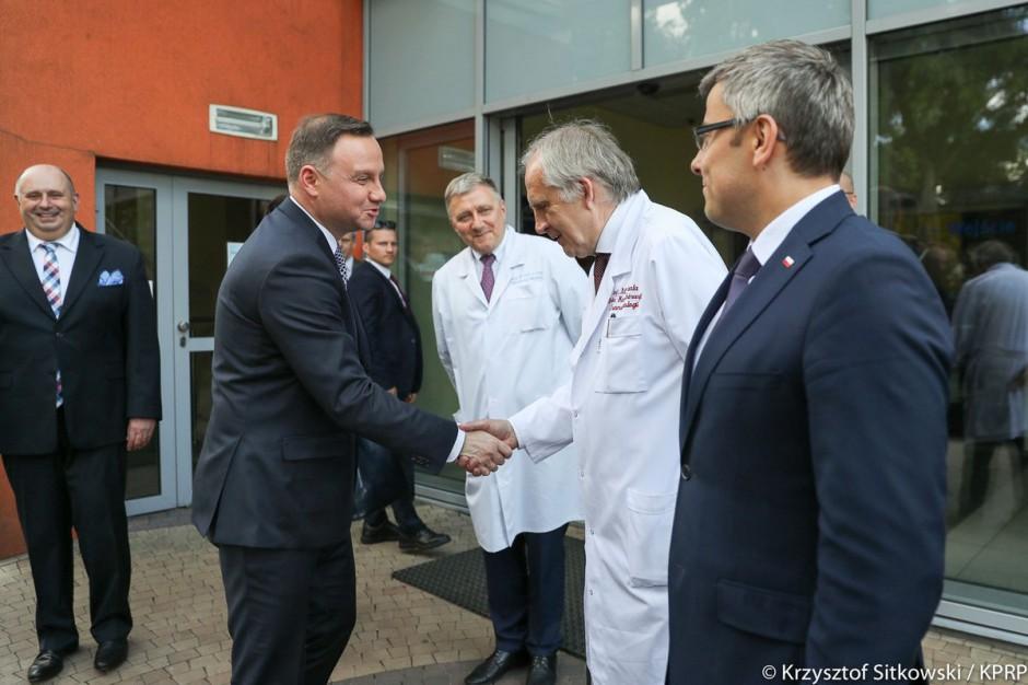 Prezydent w Zabrzu: Wyprowadziliście kardiologię na zachodnioeuropejski poziom