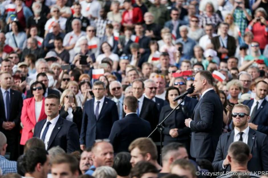 """Andrzej Duda: Gliwice zawsze były """"miastem niepokornym"""", ale dobrze zarządzanym"""