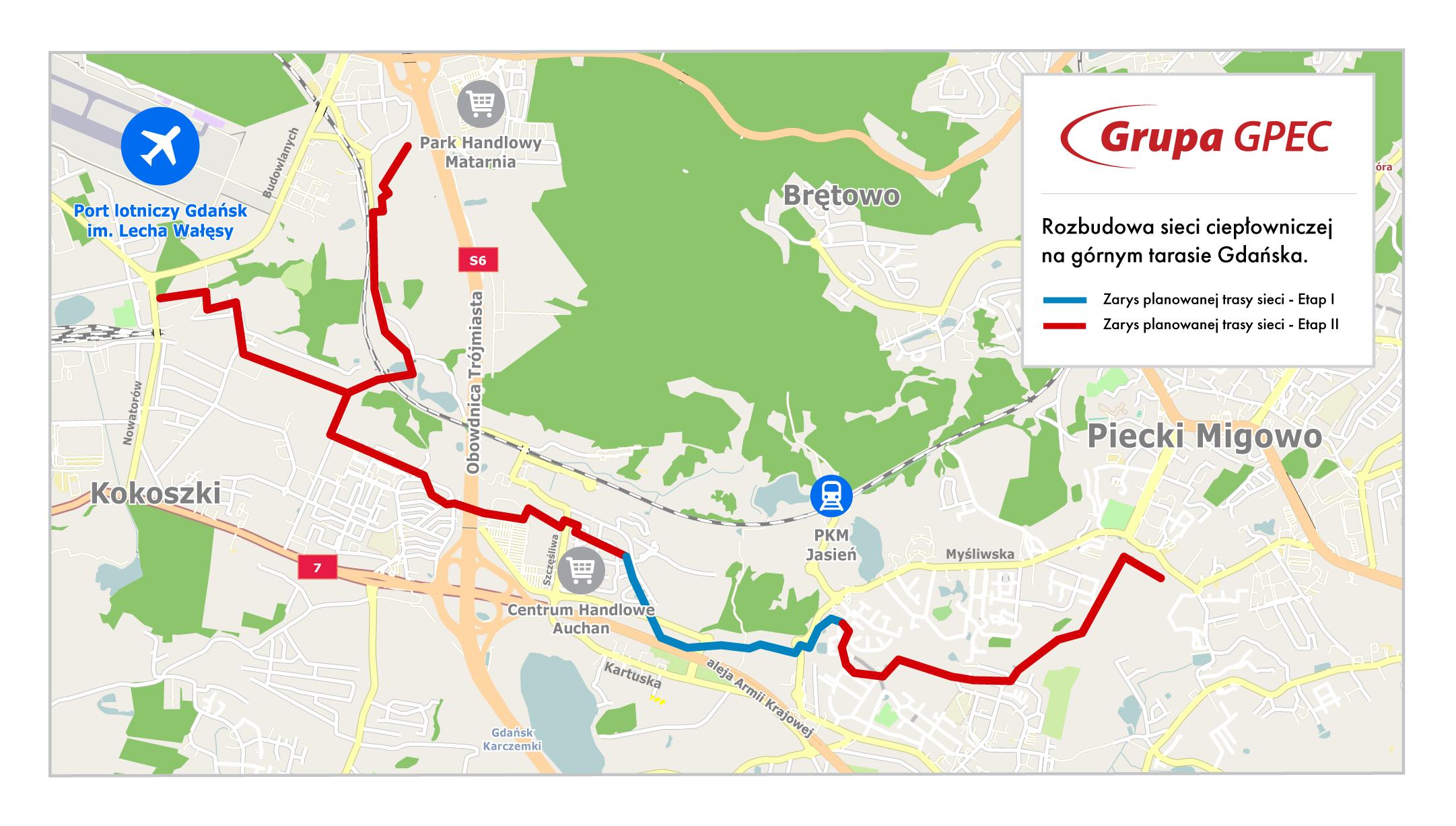 Mapa sieci (fot.GPEC)