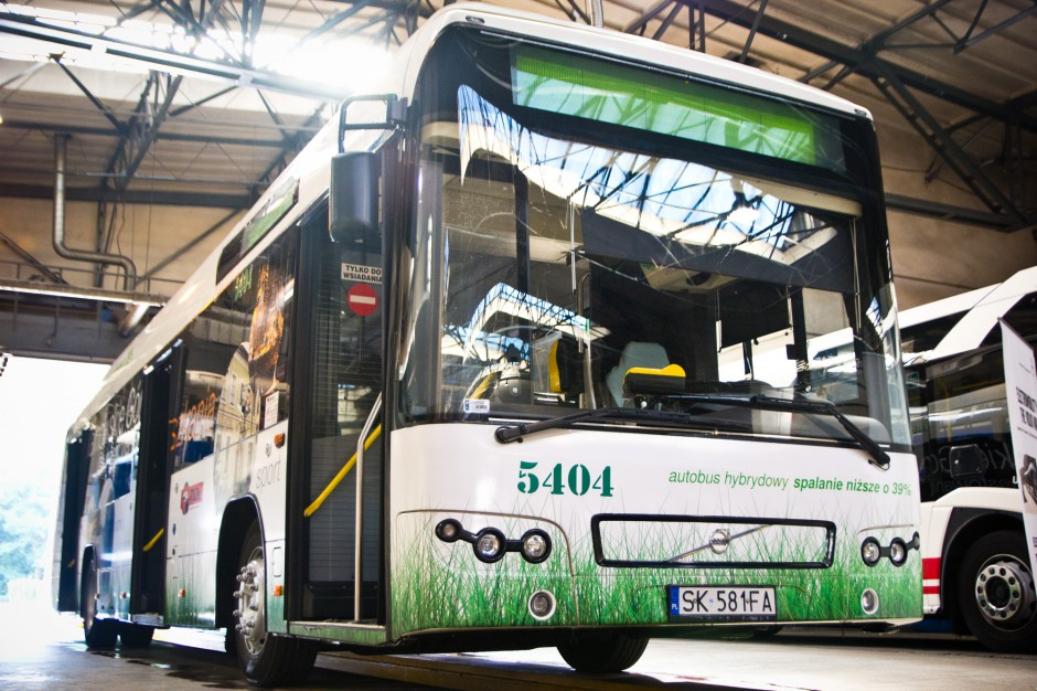 Sosnowiec kupuje 38 nowych autobusów - 3 elektryczne, 35 hybrydowych
