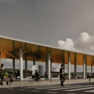 Stacja C3 Lazurowa (wizualizacja źródło: UM Warszawa)