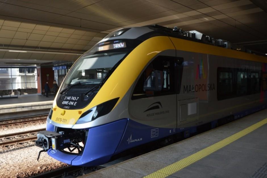 Z Krakowa do Zakopanego pociągiem pojedziemy krócej o kwadrans