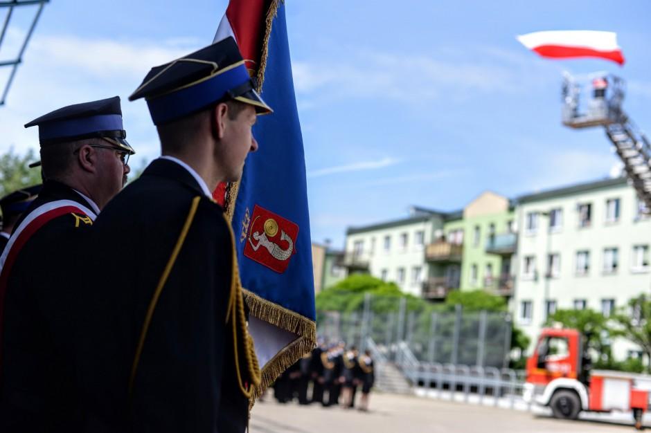 Warszawa obchodziła lokalny dzień strażaka. Podziękowano też odważnym obywatelom