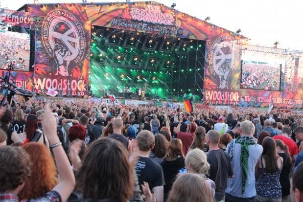 Główna scena Przystanku Woodstock w 2012 roku, źródło: wikimedia.org/CC