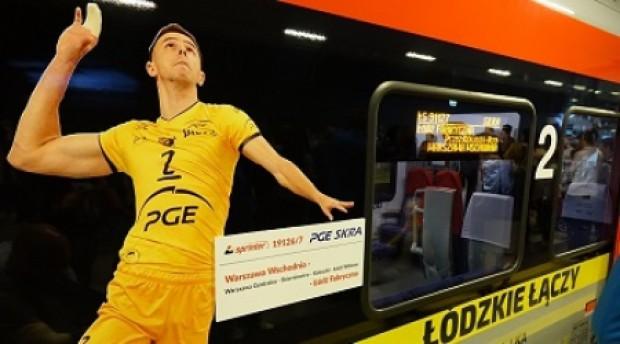 Łódzka Kolej Aglomeracyjna: Pociąg Skra pojedzie do Warszawy