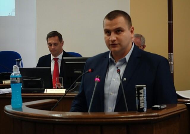 Michał Sosnowski, radny PSL z Płocka (fot. facebook Michał Sosnowski)