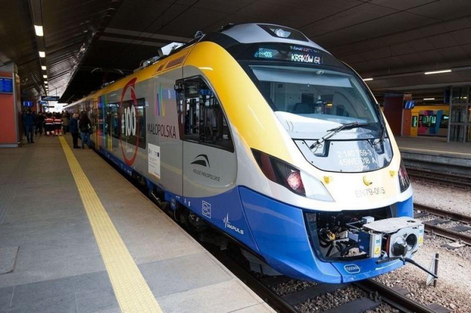Małopolska Kolej Aglomeracyjna: Linia z Krakowa do Tarnowa bije rekordy