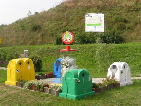 Wspólny System Segregacji Odpadów: 4 frakcje - 4 kolory pojemników