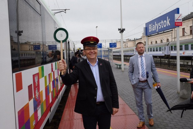 """Podlaskie - Znów jeździ """"turystyczny"""" pociąg Białystok-Waliły"""