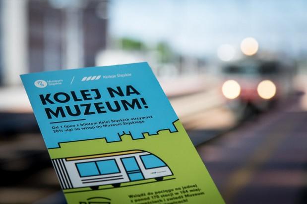 Koleje Śląskie i Muzeum Śląskie na wakacje łączą siły. Przygotowały wspólną ofertę