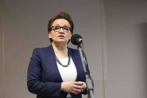 Anna Zalewska: Prawo oświatowe nie po to było tworzone, żeby było tylko na papierze