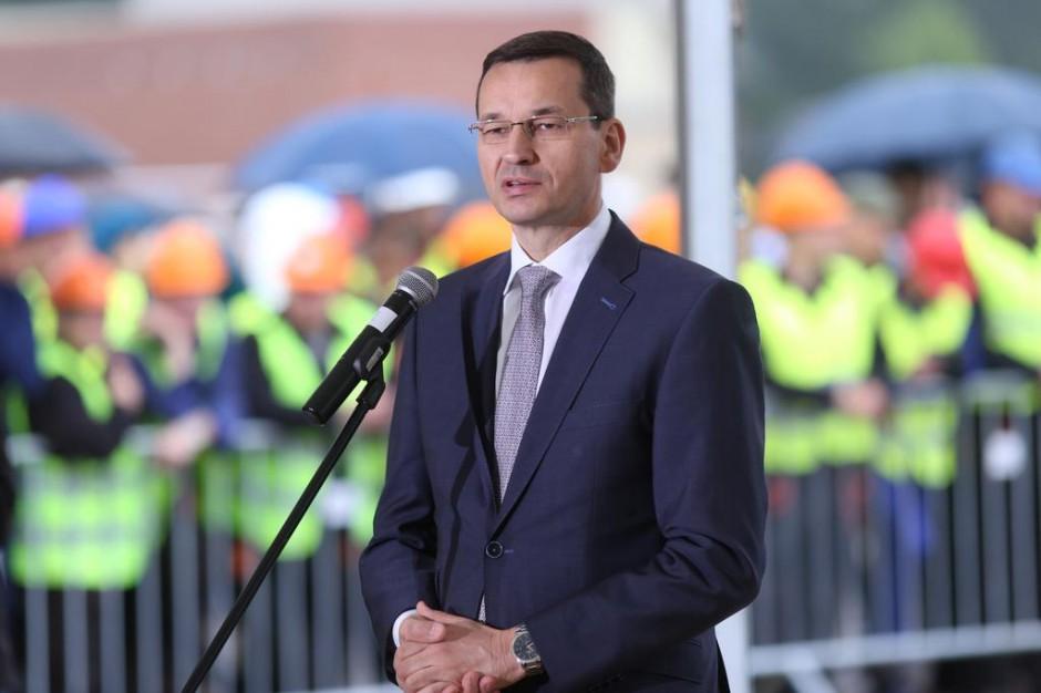 Morawiecki w Szczecinie: przyjechaliśmy dać nadzieję na rozwój Stoczni Szczecińskiej