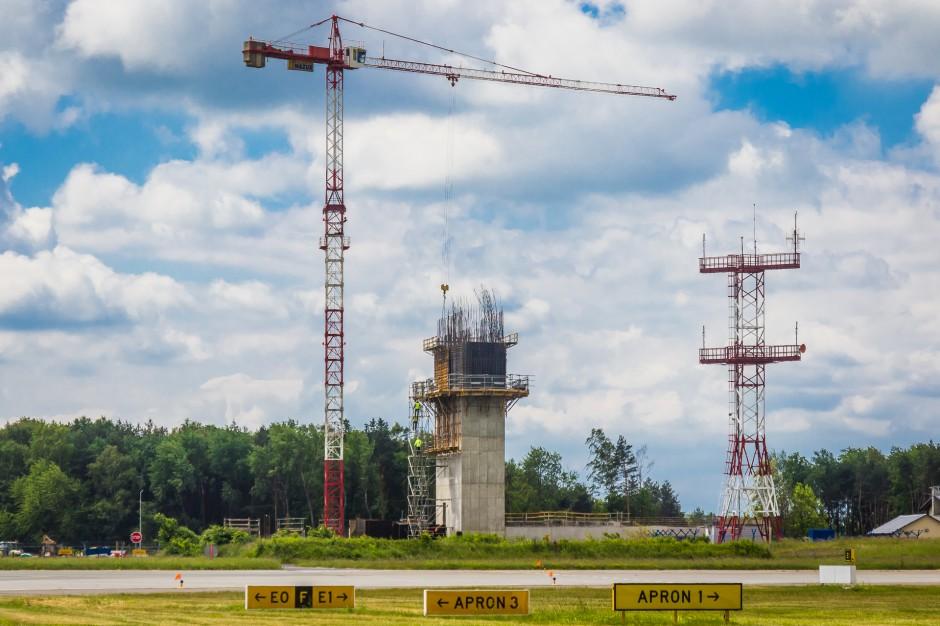 Katowice Airport: budują nową wieżę kontroli lotów