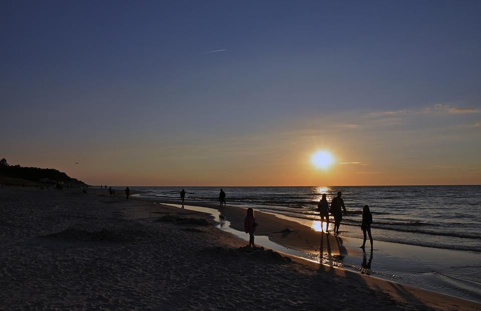 O frekwencję nad Bałtykiem nie ma się co martwić.Fot. pixabay.com