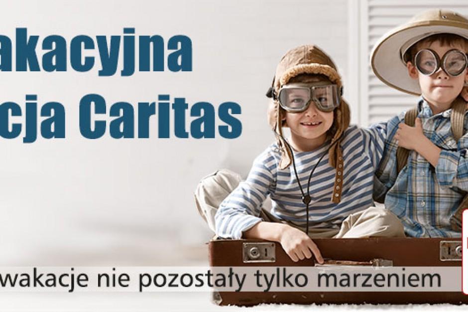 Łódź: Rozpoczyna się wakacyjna akcja Caritas
