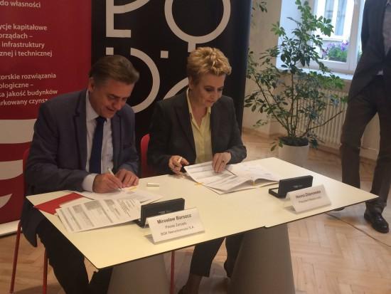 Mieszkanie Plus w Łodzi. Jest umowa, będzie ok. 400 nowych mieszkań