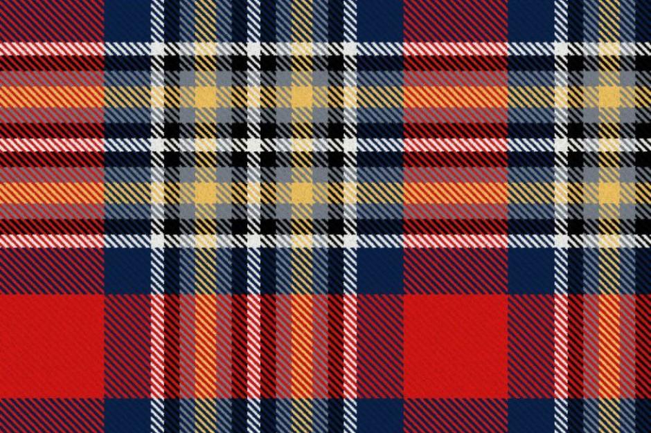 Krakowianie wybrali wzór szkockiej kraty dla miasta