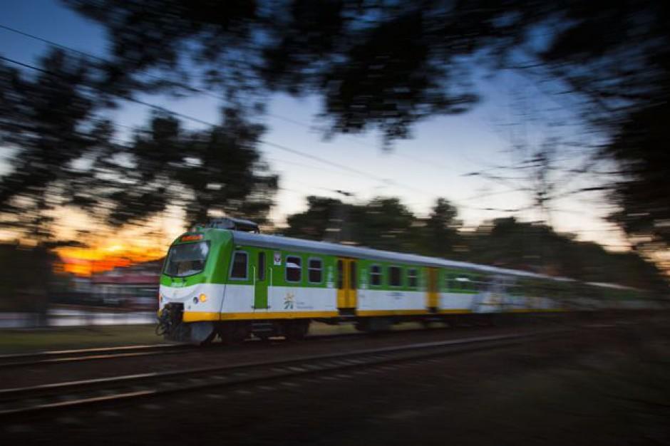 Pociąg z Konstancina do Warszawy: Samorządowcy apelują do PKP