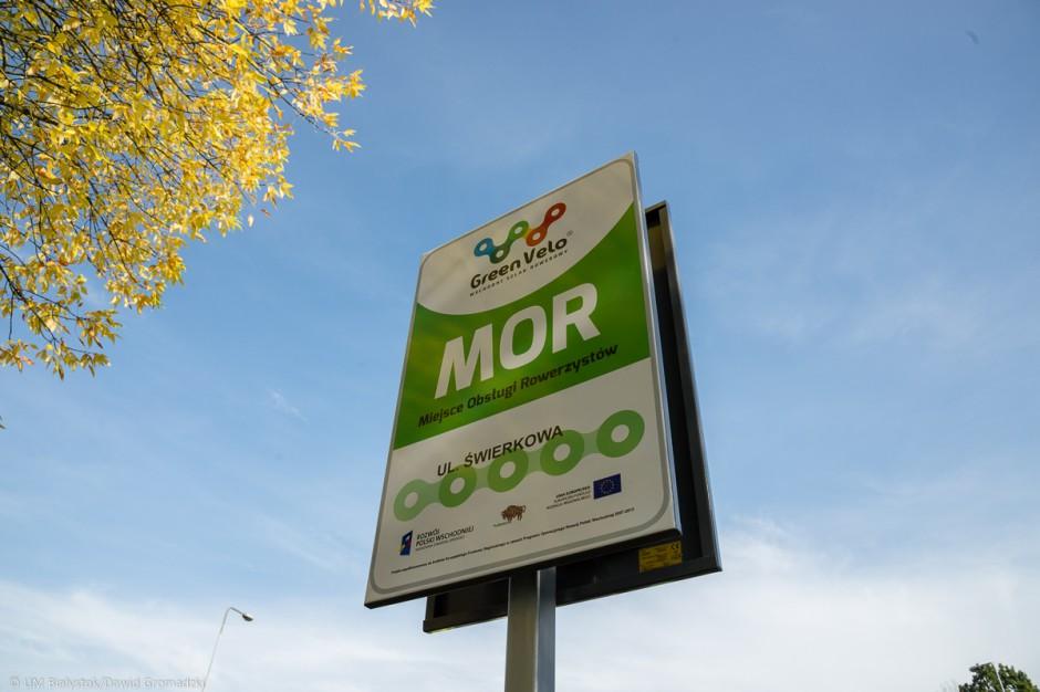 Green Velo: Przybywa miejsc przyjaznych rowerzystom na Podlasiu