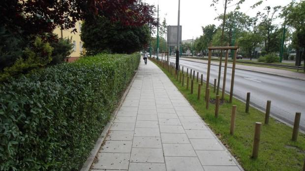 W Poznaniu nowe chodniki za opłaty parkingowe