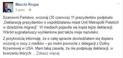 facebook. com Marcin Krupa