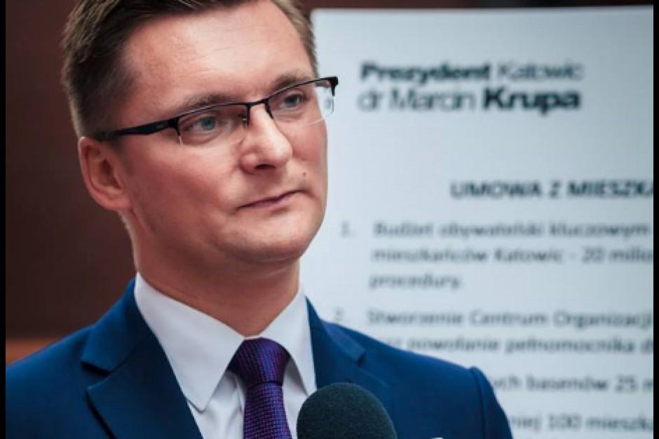 """Marcin Krupa, prezydent Katowic o deklaracji ws. uchodźców: """"Mam taką zasadę, że ...."""""""