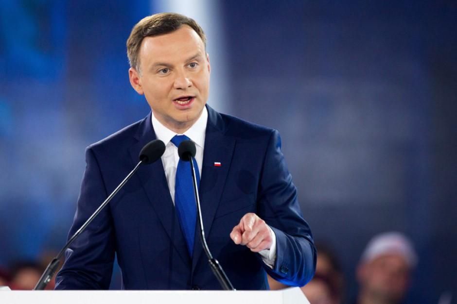 Prezydent Andrzej Duda odwiedził Człuchów