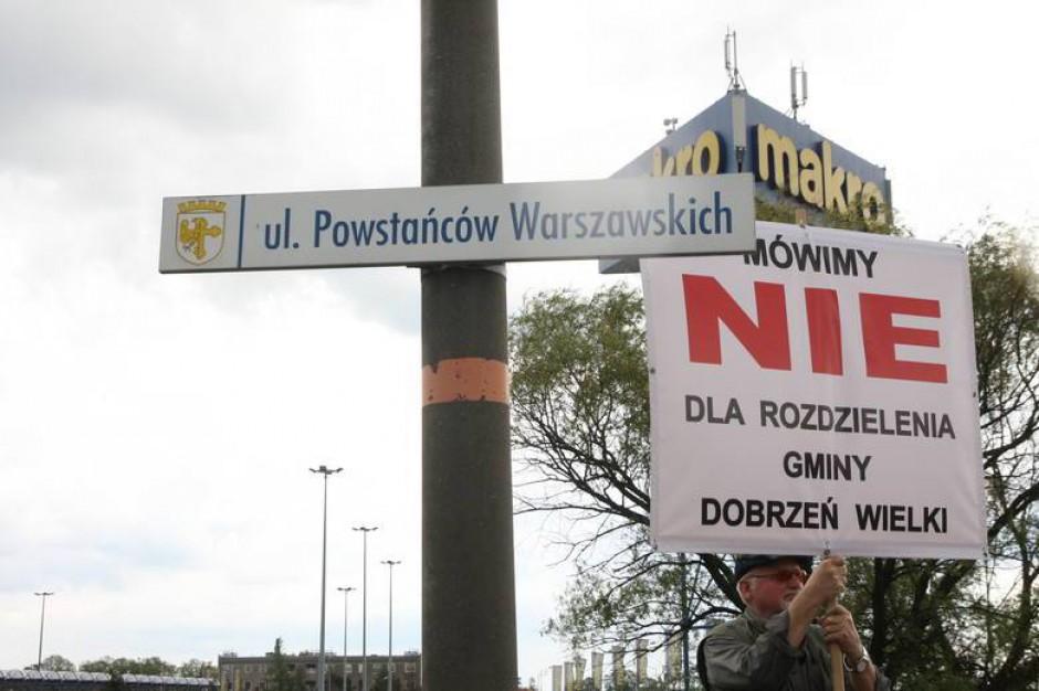 Opole: Przeciwnicy powiększenia miasta zapowiadają kolejny Marsz Samorządności