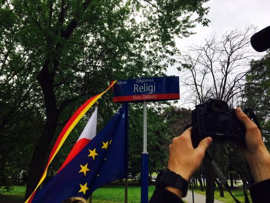 Warszawa: Fragment nadwiślańskich bulwarów nosi imię Zbigniewa Religi