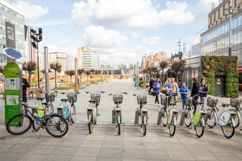 Katowice: rekordowa liczba wypożyczeń rowerów miejskich i nowe inwestycje dla rowerzystów