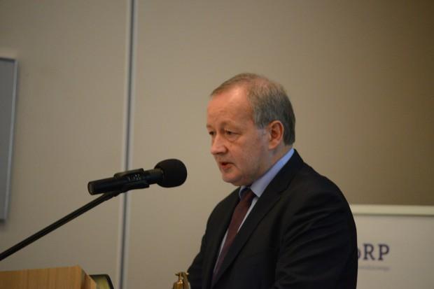 Na posiedzeniu sejmowej komisji obecny był wiceminister środowiska Mariusz Gajda (fot. RZGW w Gdańsku)