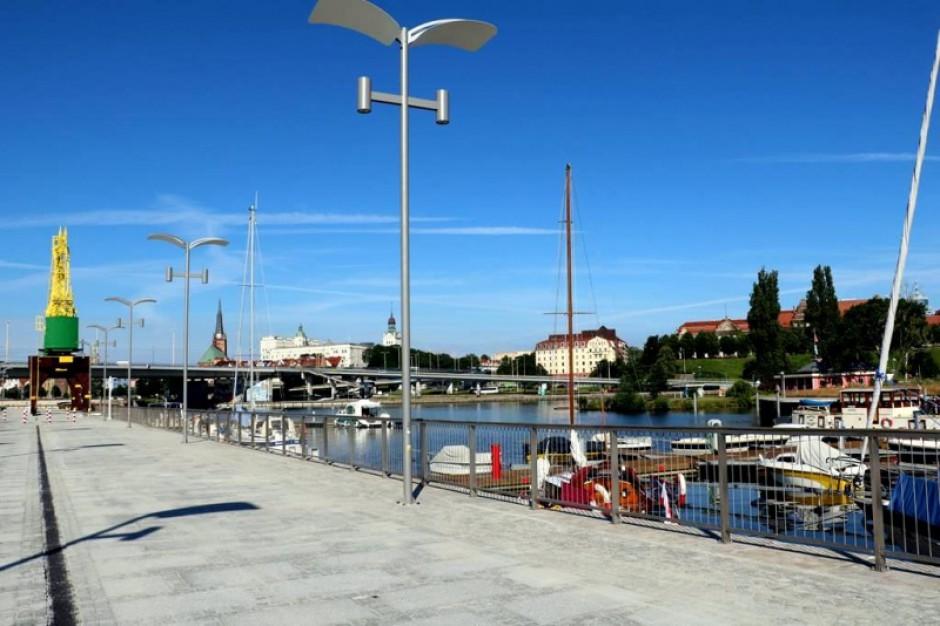 Szczecin. Otwarto zmodernizowane Nabrzeże Starówka
