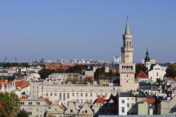 Opole podzielone na dzielnice