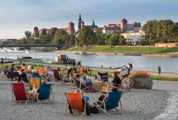 W Krakowie powstanie kolejna plaża nad Wisłą