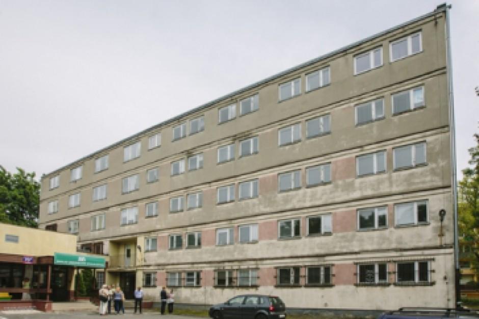 Łódź: Mieszkania komunalne w byłym biurowcu