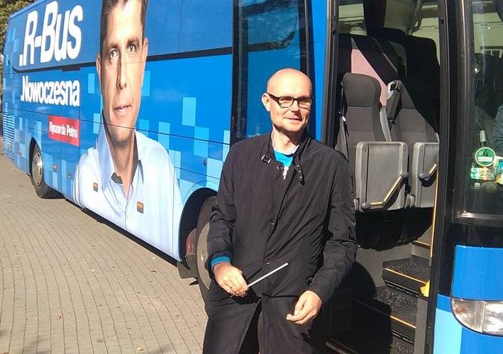 Ekonomista i przedsiębiorca Bartłomiej Austen będzie kandydatem na prezydenta Gdyni. (fot. Facebook)