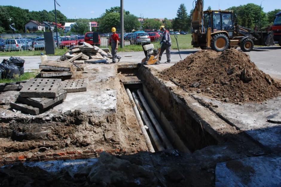 Kielce: Przez przebudowę sieci ciepłowniczej mieszkańcy nie będą mieli ciepłej wody. Przez dwa tygodnie