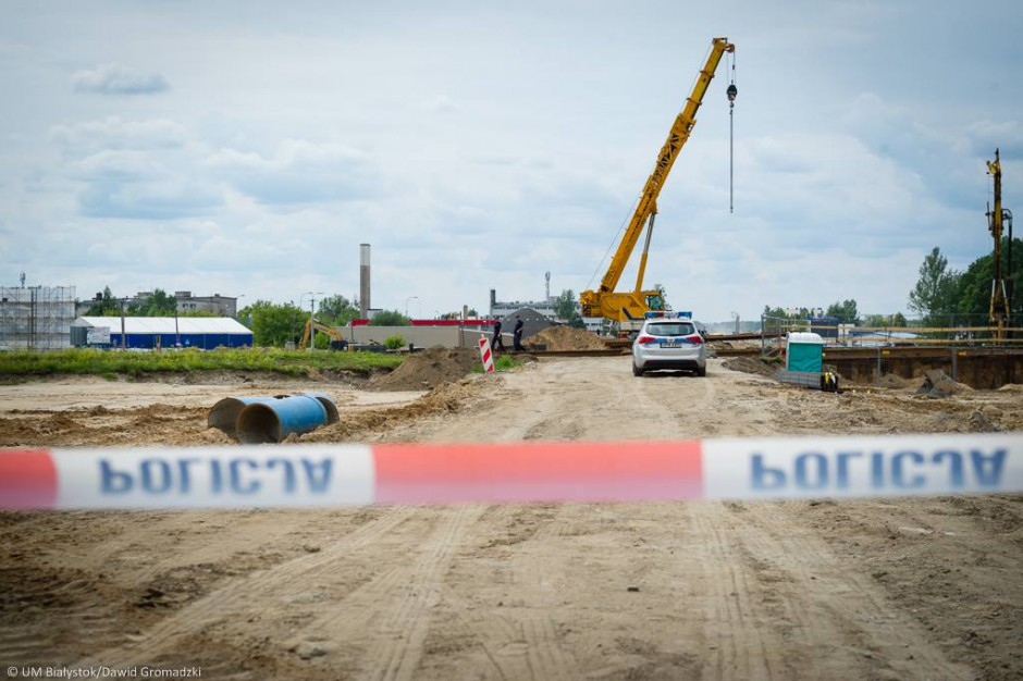 Bomba w Białymstoku. Firma będzie sprawdzać plac budowy