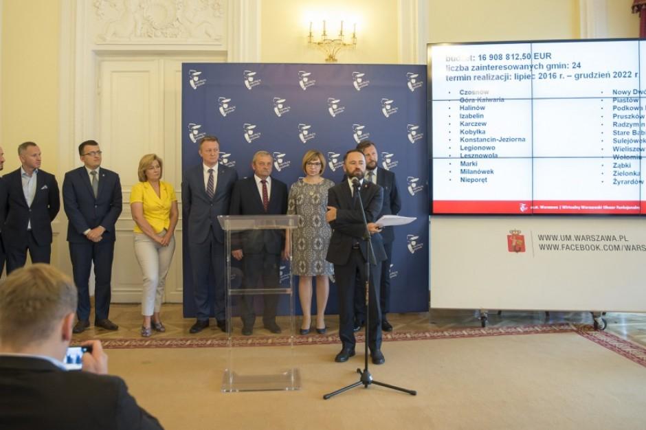 Warszawa i okolice w smartfonie