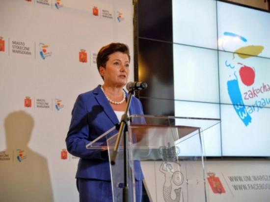 Julia Przyłębska, prezes TK: Hanna Gronkiewicz-Waltz nie powinna oceniać ustawy, której nie badał TK