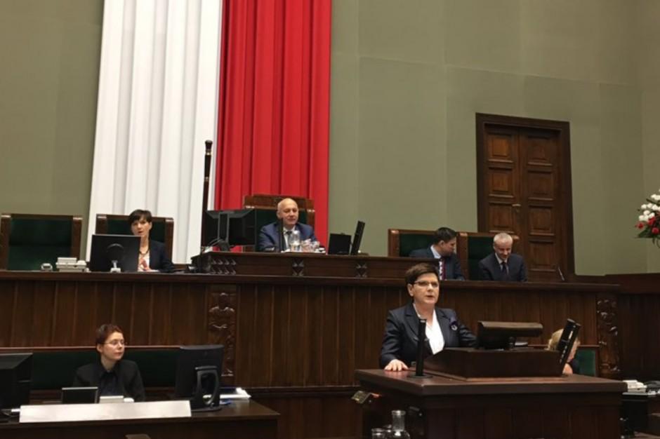 Beata Szydło: Celem Funduszu ambitny program naprawy dróg lokalnych